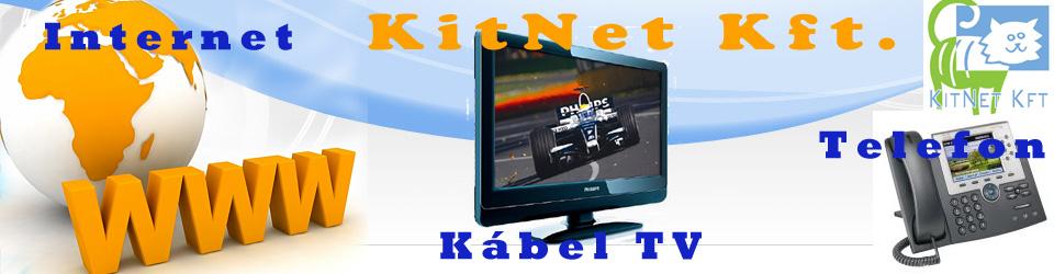 Kitnet Kft. - Internet, KábelTV, Telefon